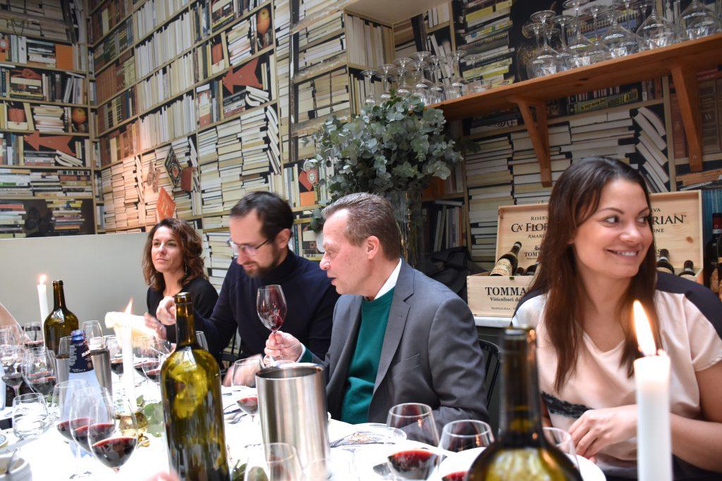 Pressträff och vinprovning av Tommasi!