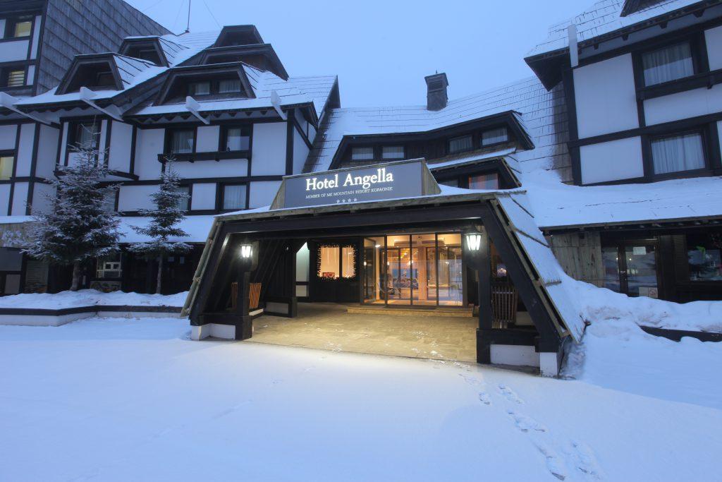 Skidåkning i Serbien Kopaonik Hotel Angela